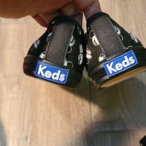 Keds Shoes - Minnie mouse black keds
